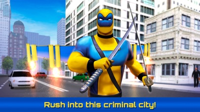 Dual Swords City Superhero Sim