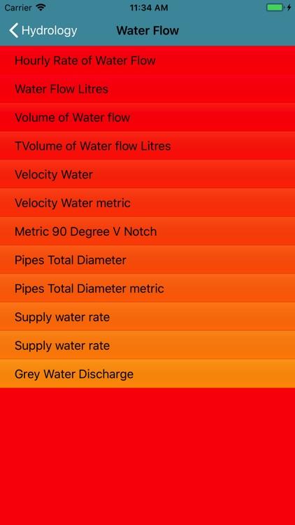 Hydrology Formulator screenshot-3