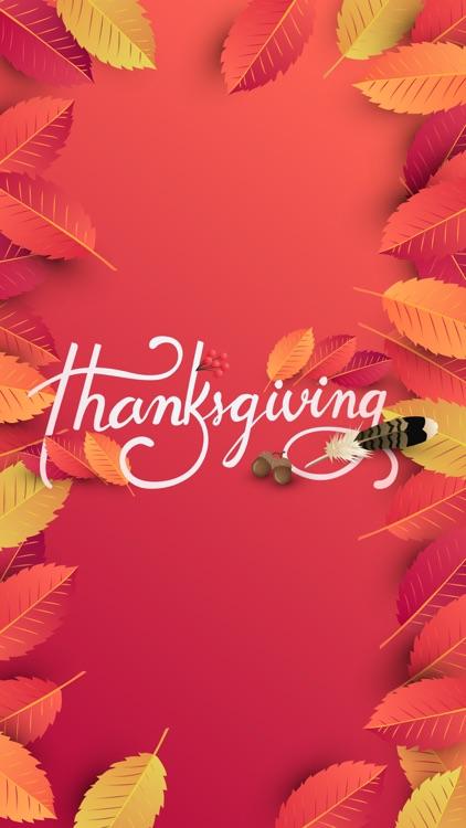 Happy Thanksgiving Sticker SMS