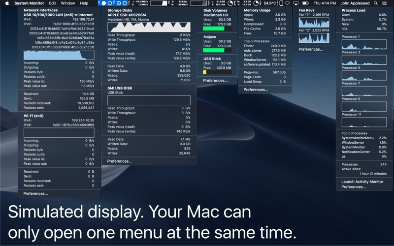 System Monitor DMG Cracked for Mac Free Download