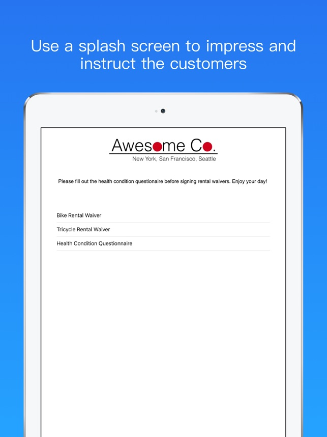 Waiverforever Online Waiver On The App Store