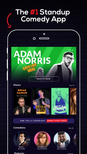 Comedy App Stand Up Comedians on the App Store
