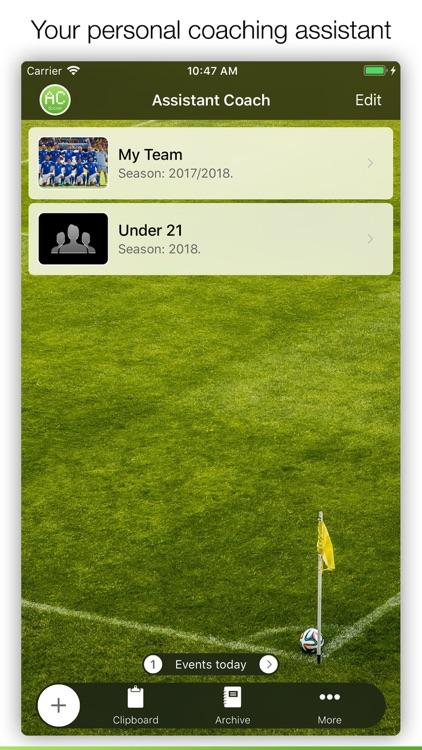 Assistant Coach Soccer screenshot-0