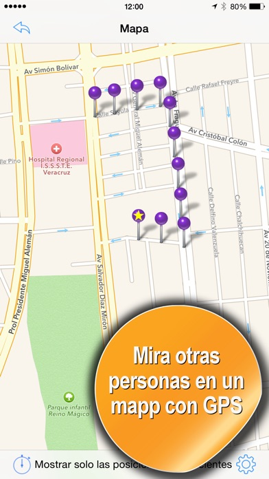 Screenshot for Seguidor de Móviles (GPS) in Peru App Store