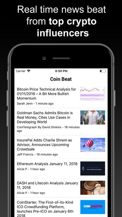 Crypto Tracker - Coin Beat