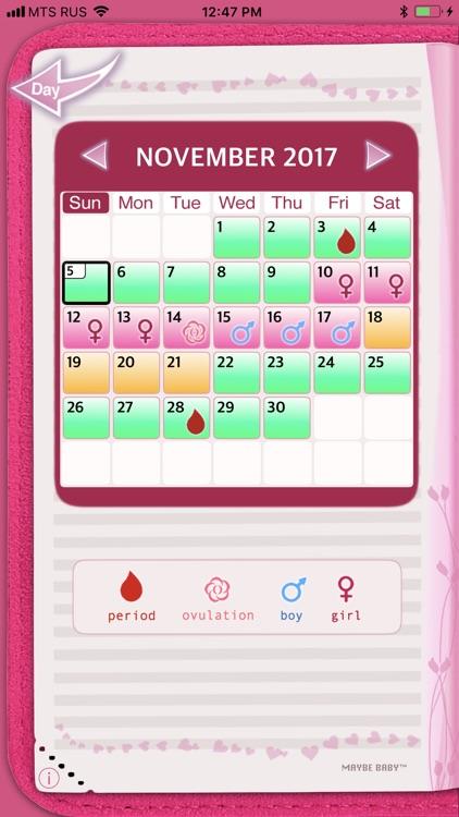 Maybe Baby™ Period & Fertility screenshot-0