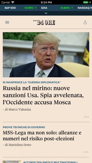 Il Sole 24 Ore On The App Store
