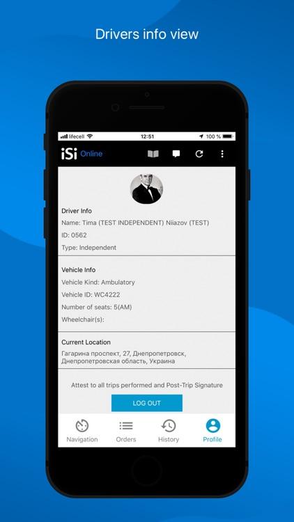 iSi Driver App screenshot-4