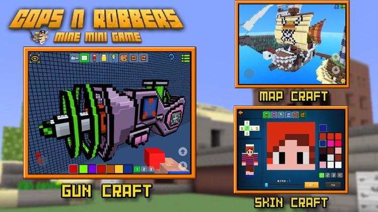 Cops N Robbers (FPS) - Block Survival Multiplayer screenshot-4