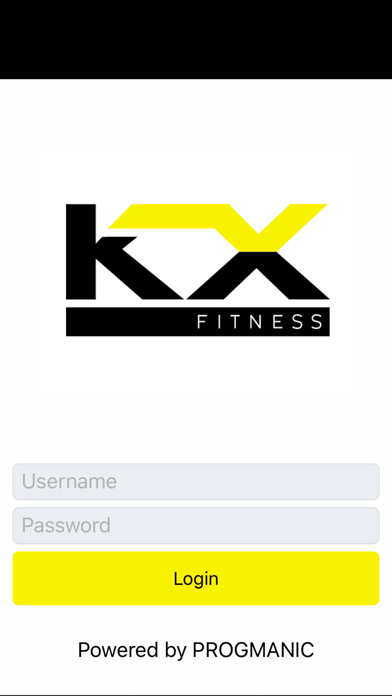 KX Fitness screenshot one