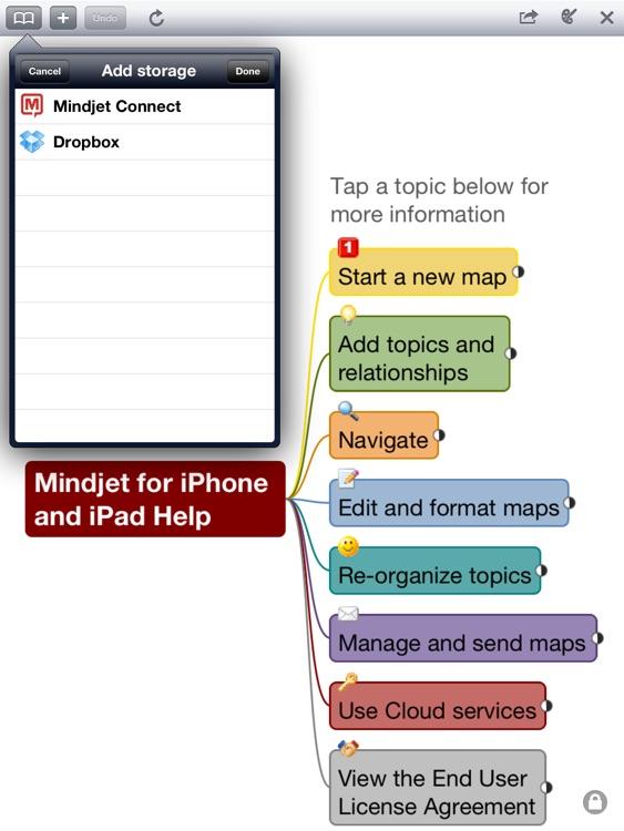 Mindjet Maps for iPad screenshot-4