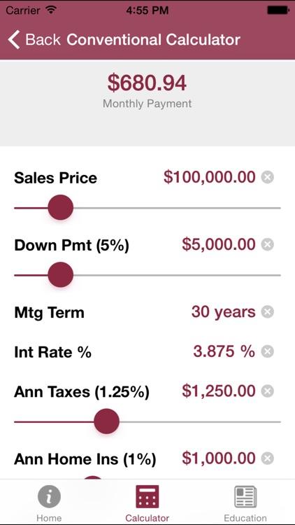 JCB Mortgage Calculator
