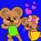 App Icon for Cuty Fun Mouse Sticker App in Albania IOS App Store