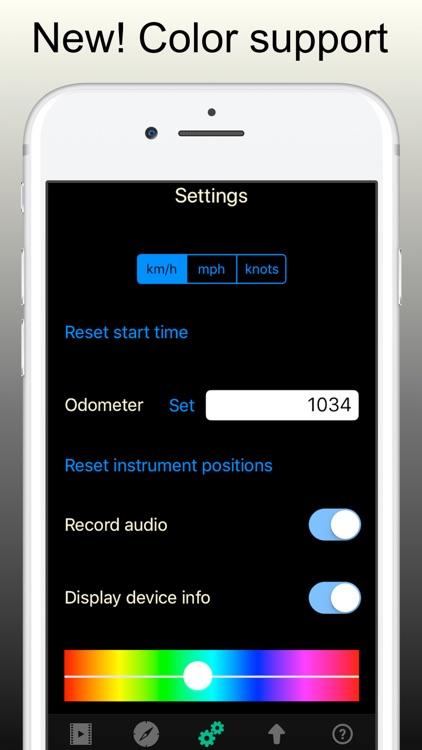 Action Cam - show speed, GPS screenshot-3