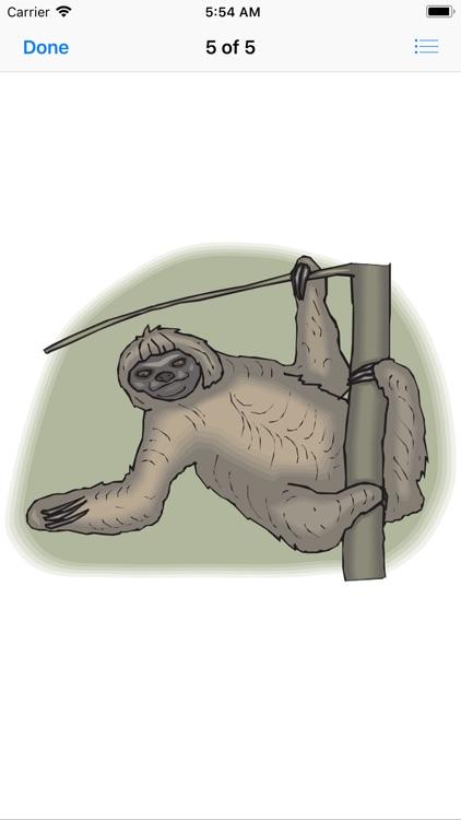 Slow Sloth Stickers screenshot-5