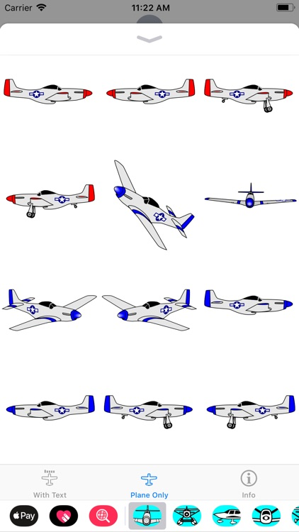 P-51D Mustang Sticker App screenshot-3