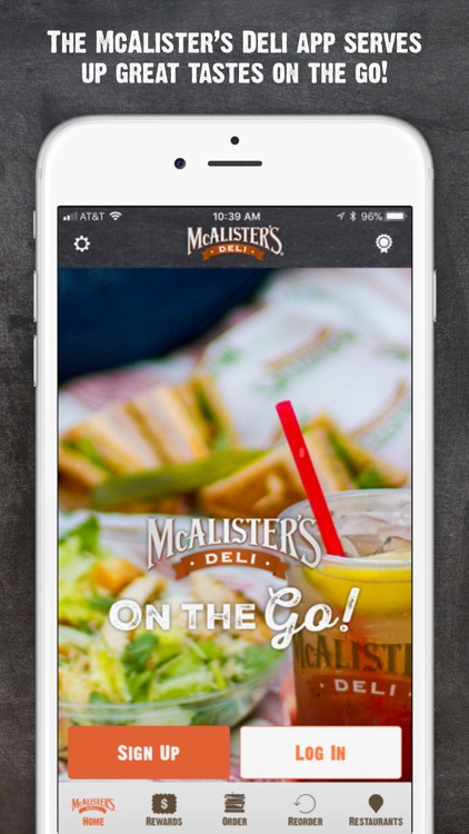 McAlisters Deli screenshot-0