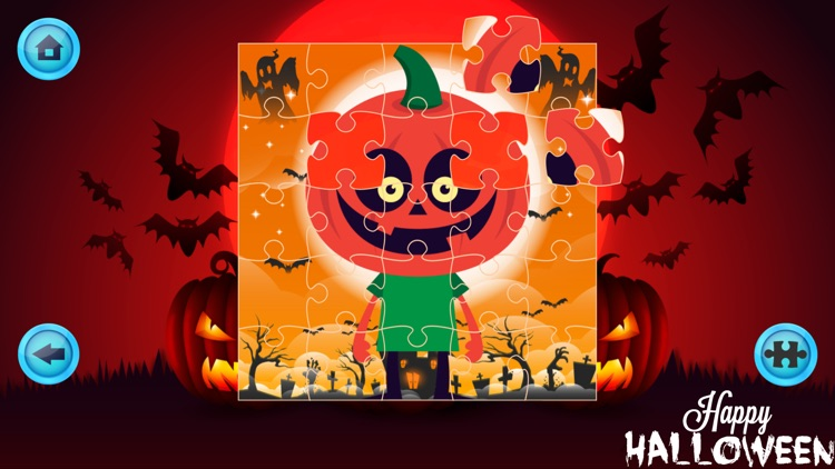 Cute Halloween Jigsaw