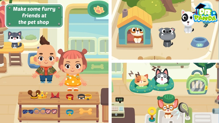 Dr. Panda Town: Mall screenshot-3