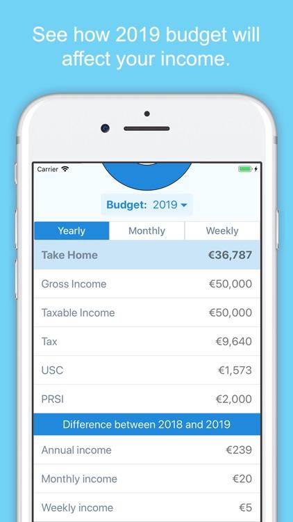 Irish Income Tax Calculator screenshot-3