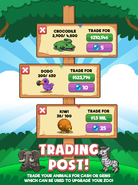 Idle Tap Zoo | App Price Drops