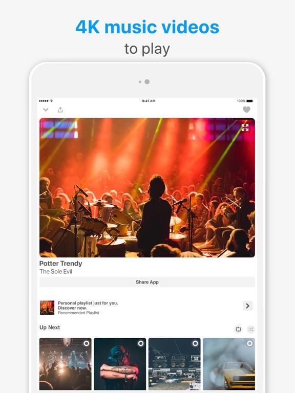 Music Player- Music Video Play-ipad-1