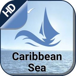 Caribbean Sea fishing charts