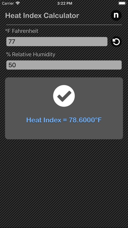 Heat Index Claculator