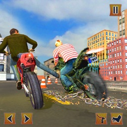Crazy Chained Bike Stunts Race