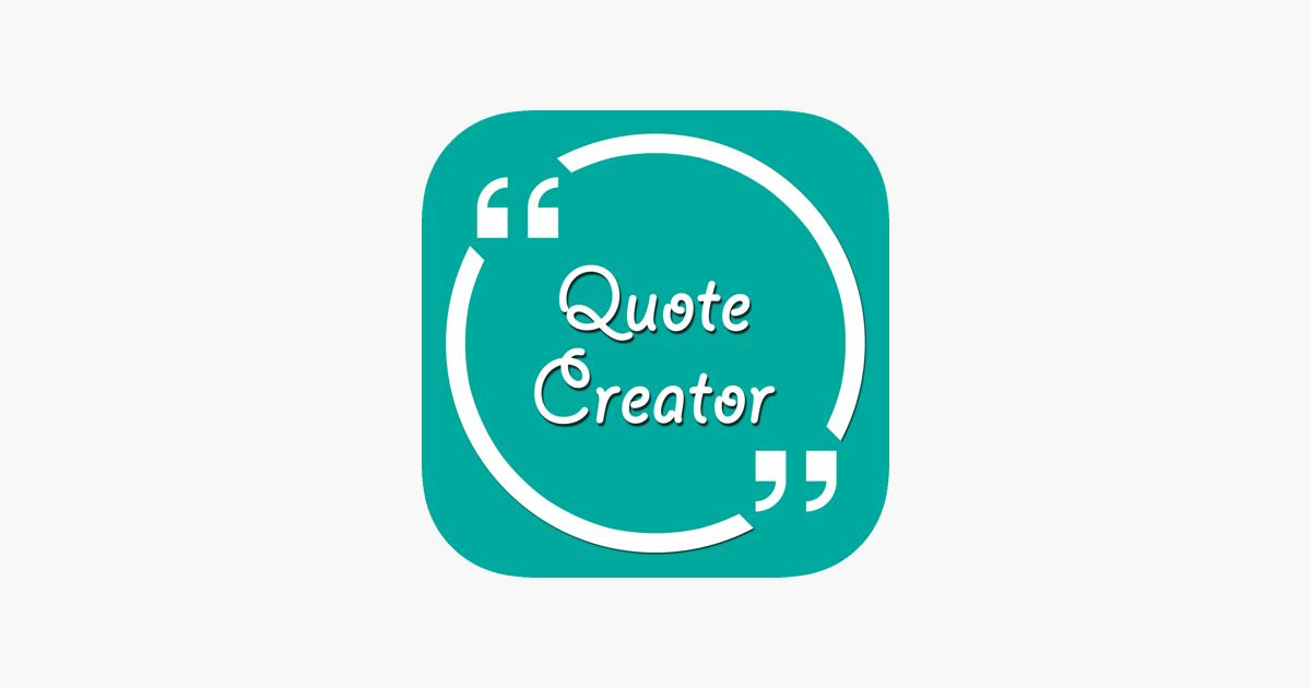 Quote Creator IQuote On The App Store Custom Quote Creator