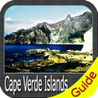 Cape Verde Islands charts GPS map Navigator icon