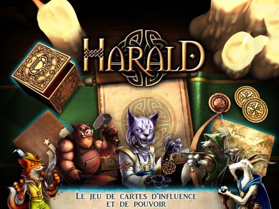 Harald:un jeu d'influence