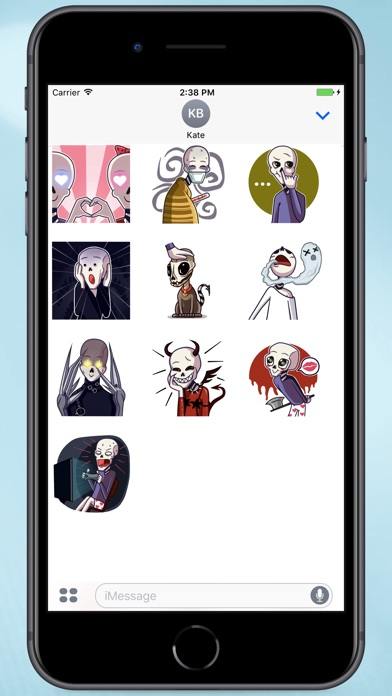 Screenshot for Funny Shinigami Stickers in Colombia App Store