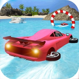 Water Surfer Jet Car Racing