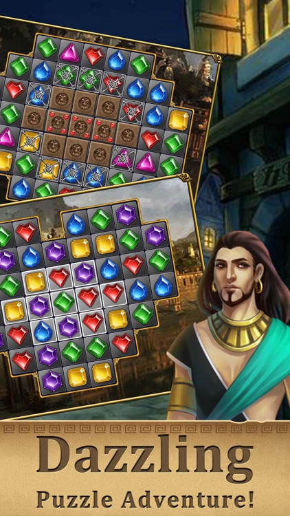 Jewel Swap -Magic Match 3 game screenshot-3