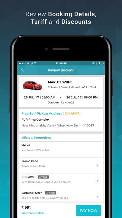 Volercars - Self Drive Cars screenshot-3