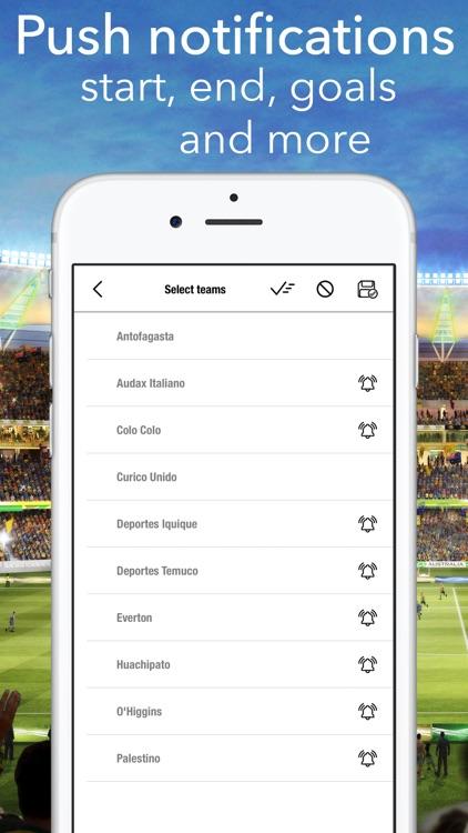 Primera Chile - Football Stats screenshot-4