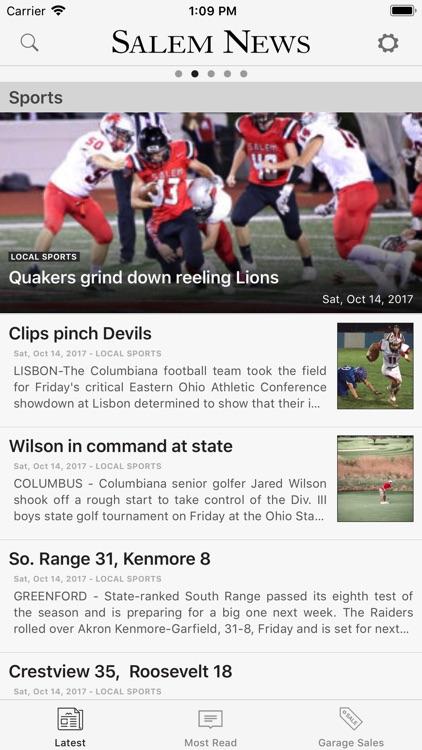 Salem Ohio News