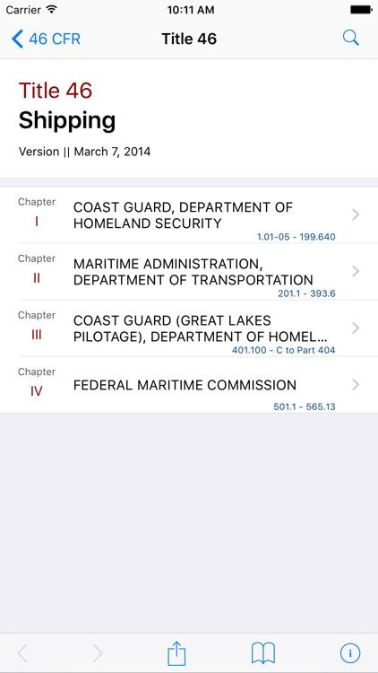46 CFR - Shipping (LawStack Series)