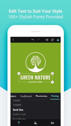 DesignEvo iOS app