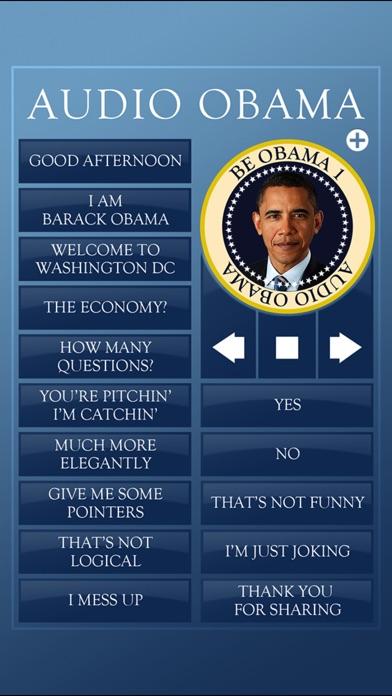 Audio Obama - soundboard Скриншоты4