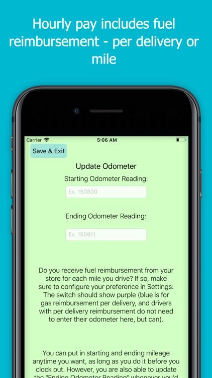 Tipped: A Driver's Tip Tracker screenshot-6