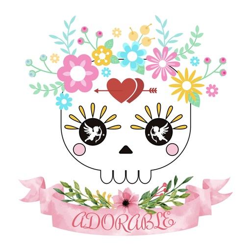 Animated Funny Skull Emoji
