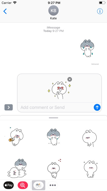 Lovelife Kitty Stickers Pack