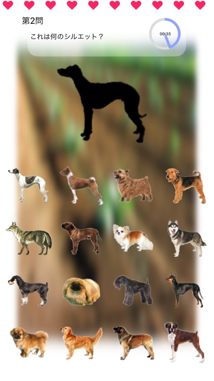 Dogs Walk Silhouette Touch :: Game with 109 Dogs screenshot-3
