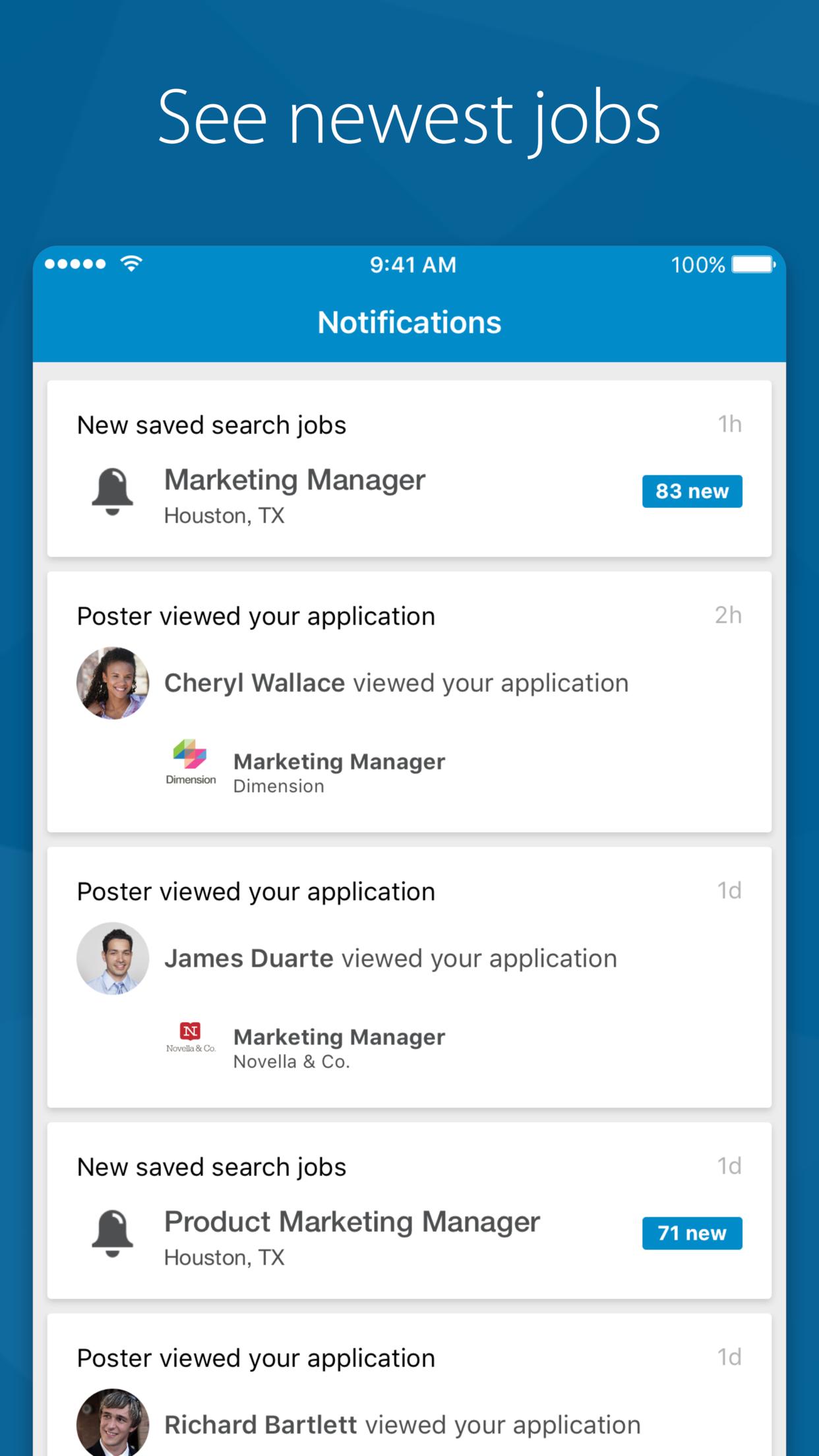 LinkedIn Job Search Screenshot