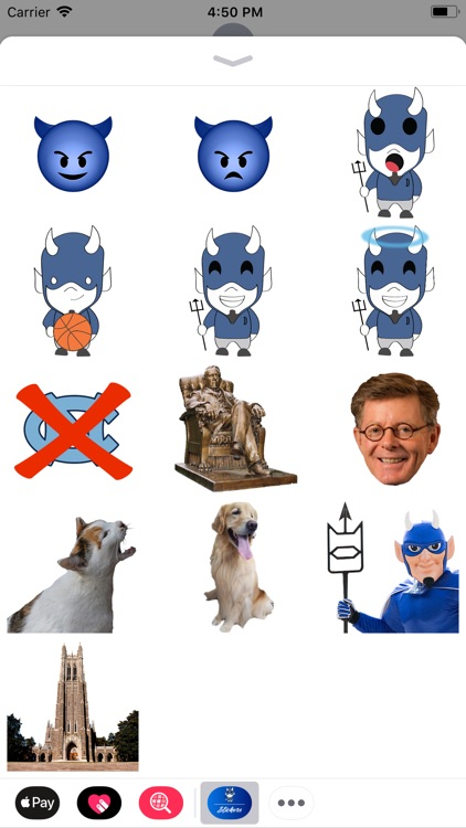 Blue Devil Stickers screenshot-3