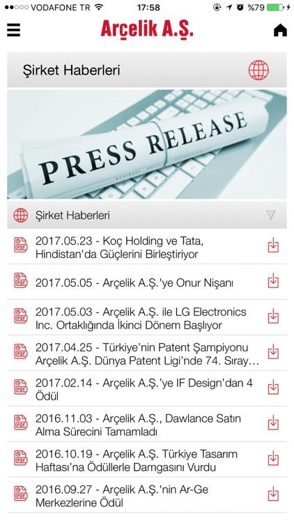 Arçelik IR screenshot-3