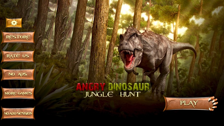 Angry Dinosaur T-Rex Simulator
