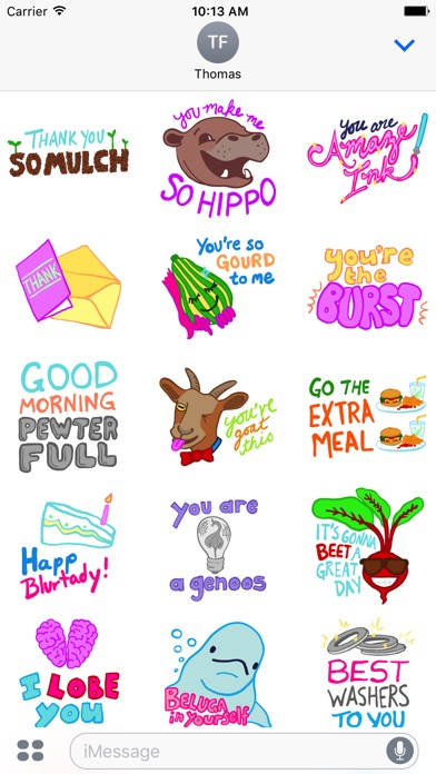 Good Messages Wrong Words - stickers